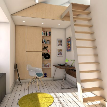 bed-deck house